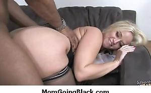 See my mom go black : Adorable hardcore interracial scene 10