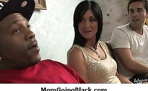 My mommy go insidious : Amazing interracial MILF sex 25