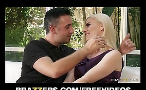 Lonely blond wife Darryl Hanah calls an old friend rough-sex