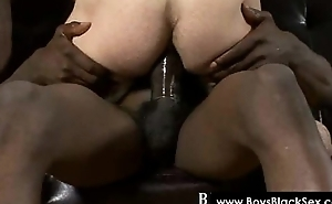 Blacks Thugs Breaking Down Sissy White Boyz Hard 08