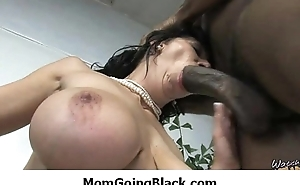 Recognizing my mama going black - Interracial MILF porn
