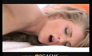 Orgasms Scrawny GF wet for him