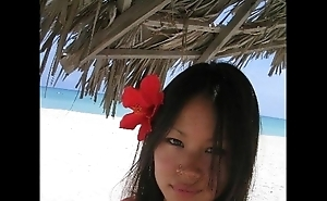 Lucy Liu Lookalike Legal age teenager In Holidays