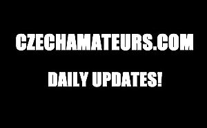 CZECH AMATEURS - REDHEAD GF &_ HER FUCKER