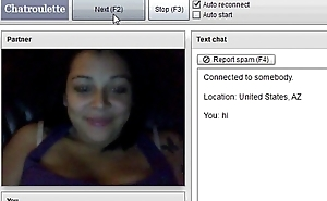 dumb anerican show tits on chatroulette