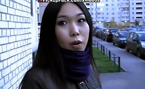 Obscurity pick encircling fuck with asian chick