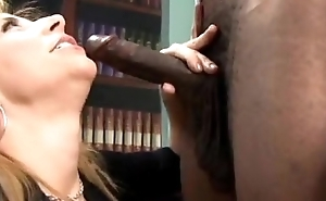 Sara Jay Loves Black Cock Operative Peel