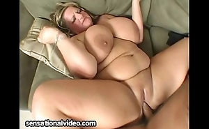 BBW Veronica Vaughn Deep Face holes Animalistic Cock