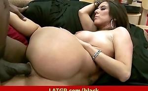 Black cock here Milf's pussy Interracial hardcore porn movie 12