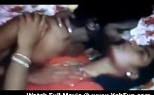 newly matrimonial couple fucking in a tamil movie