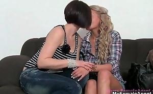 Kirmess amateur girl gets tempted