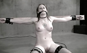 Comeuppance Bondage Sex Movie - Sexy Dominatrix in White Latex (Pt. 2)