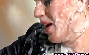 Glamour cooky loves cum