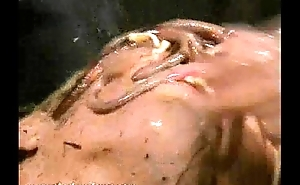 Filthy slaves obscene humiliation and messy sadomasochism be required of dirt food subbie crystel
