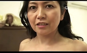 Happy Home - Japanese Granny Azusa Mayumi Disrobes in Her Home