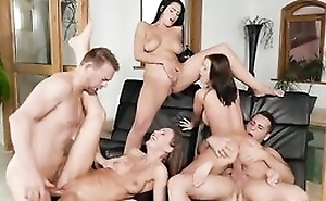 Three Euro sweethearts getting aptly fucked overwrought the pool