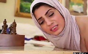 Nadia ali with pallid strapon
