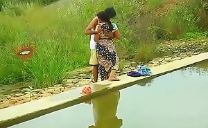 Hot mallu aunty knockers desirous be favourable to outdoor