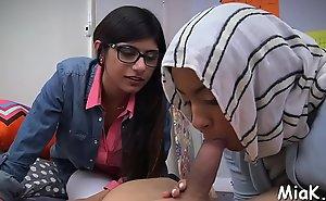 Legal age teenager arab rouge prepares be incumbent atop carnal knowledge