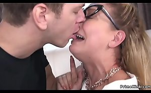 The man Milf officer anal fucked there rope