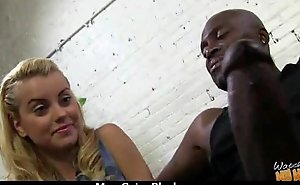 A great hardcore interracial sexual connection with sexy milf 19