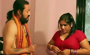 Swamiji enjoying with gorgeous Bhabhi