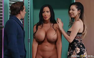 Huge Tit Sexual congress Doll Played By Sybill Stallone Got Assfucked