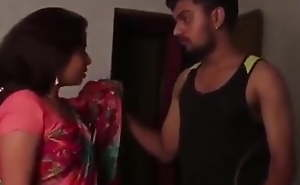 Big Ass Indian Aunty Coitus With Hot Lockal Boy in Bed & Bathro