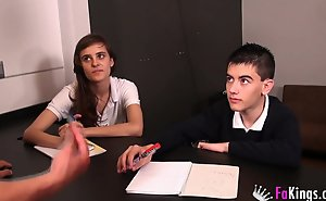 Jordi enp coupled with Ainara's overcome school day!!!