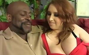 Busty Voluptuous Redhead Bonks Huge Cock