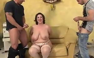 big chest matured gets screwed gone out of one's mind 3 increased by DP