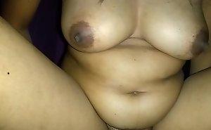 My neighbor crestfallen boobs bounces riding my cock