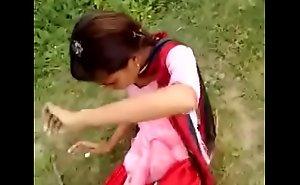 Desi Girl Outdoor Sexual intercourse Prevalent Hindi Audio