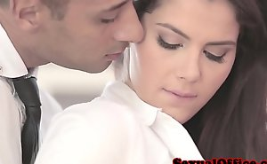 Classy officesex closeup respecting valentina nappi