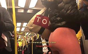 Sexual intercourse in train