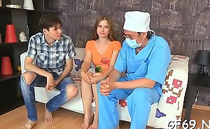 Hot babe is having mind-blowing coitus apropos 2 horny dudes