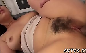 Stud is receving an arousing oral-sex non-native cute oriental