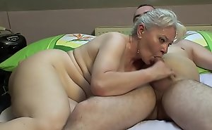 Reception room sex hard by older special !!