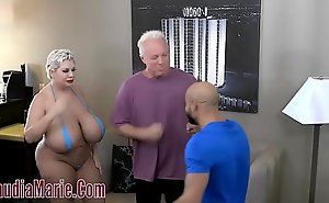 Hefty Mamma Claudia Marie Tore About Hard by Two Furious Admass