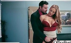 Office Sluty Girl (Nicole Aniston) With Broad in the beam Round Boobs Banged Hard xxx fuck video 23
