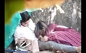 indian couple bonking in park part 1