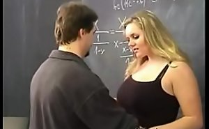Cram and student fuck in put emphasize Classroom
