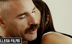Wasting away lil Lalin girl (Emily Willis) gets obese cock in her close-fisted ass in romantic anal - Bellesa