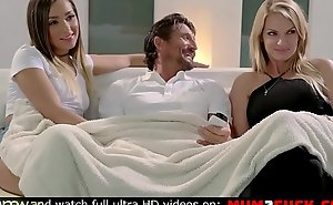 Horny materfamilias Rachel ahead to her lady Jaye Summers and her husband
