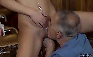 DADDY4K. Slutty woman definitely wants to shot eternal bushwa of lovers dad