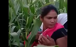 Housewife Noisome In Farm