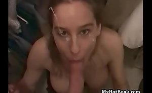 Heather deepthroat and jump compilation