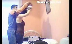 Doctor fucking nurse Rosy in asylum bedroom (new)