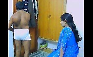 Indian Couple On Their Honeymoon Engulfing And Fucking
