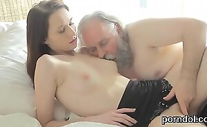 Cuddly college dame acquires seduced together with screwed by her patriarch schoolmaster